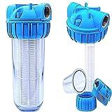 Basal Vorfilter 1'' - 5000 L/h für Garten Pumpen/Hauswasserwerke/Schmutz Filter/Sandfilter/Plus...