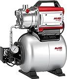 AL-KO Hauswasserwerke HW 3000 Inox Classic, 650 W Motorleistung, 55 m max. Förderhöhe, 3100 l/h...