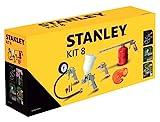 Stanley Zubehör für Luftkompressoren, Airtoolkit 8 Stück, 9045671STN