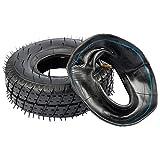1x Reifen + 1x Schlauch 4.10/3.50-4 für Mach1 Elektro + Benzin Scooter