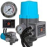 KESSER® Pumpensteuerung mit Baranzeige | mit Kabel | 10 bar Druckwächter Elektronische...