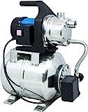 Güde 94637 HWW 1000E Hauswasserwerk (1000W, 3500l/h, Druckschalter, 19 l Edelstahltank,...